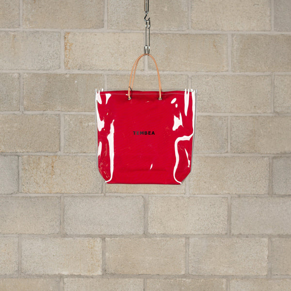 Paper Bag PVC - Dark Red-Tembea-SUPPLIES & COMPANY