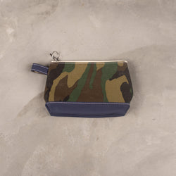 TEMBEA Toiletry Bag (Medium) Print - New Woodland Camo / Dk. Navy SUPPLIES AND CO