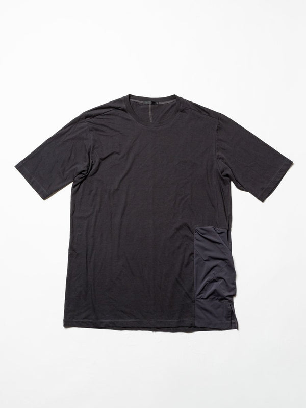 Cordura Nylon Pocket T-Shirt - Charcoal-The Viridi-anne-SUPPLIES & COMPANY