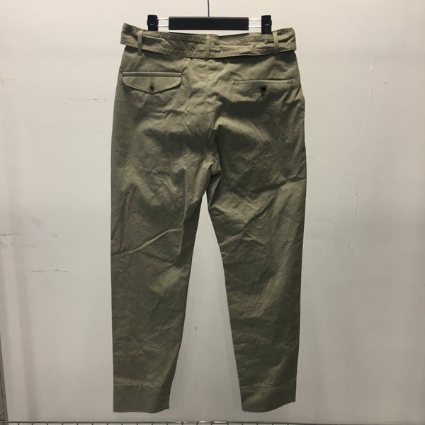 Belted Tapered Trousers-undecorated-SUPPLIES & COMPANY