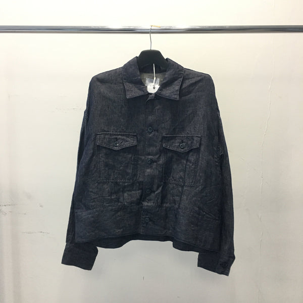 Indigo Dyed Jacket-Undecorated Man-SUPPLIES & COMPANY