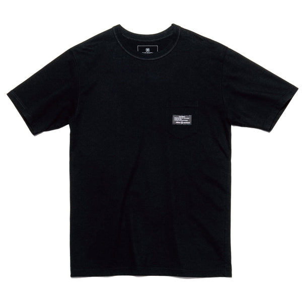 MIL Pocket T-Shirt - Black-uniform experiment-SUPPLIES & COMPANY