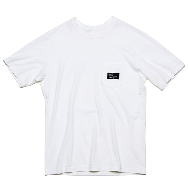 MIL Pocket T-Shirt - White-uniform experiment-SUPPLIES & COMPANY