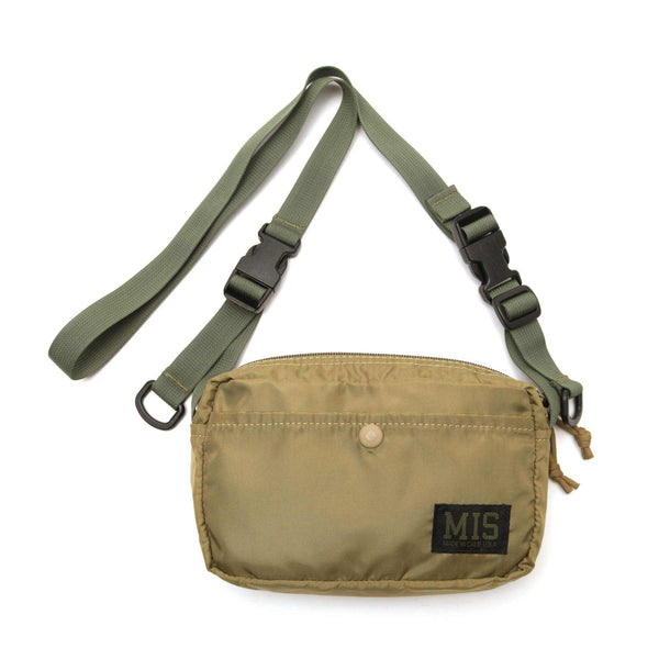 MIS Shoulder Bag - Khaki-uniform experiment-SUPPLIES & COMPANY