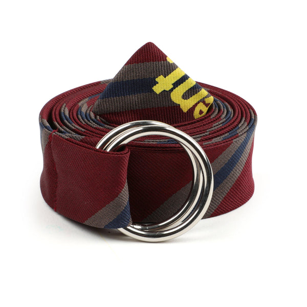 uniform experiment Regimental Long Belt - Bordeaux SUPPLIES AND CO