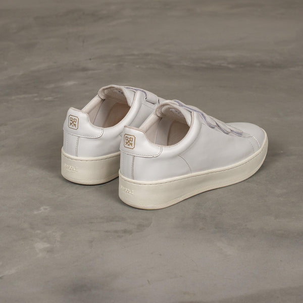 SUV Sole Velcro Sneaker - White-uniform experiment-SUPPLIES & COMPANY