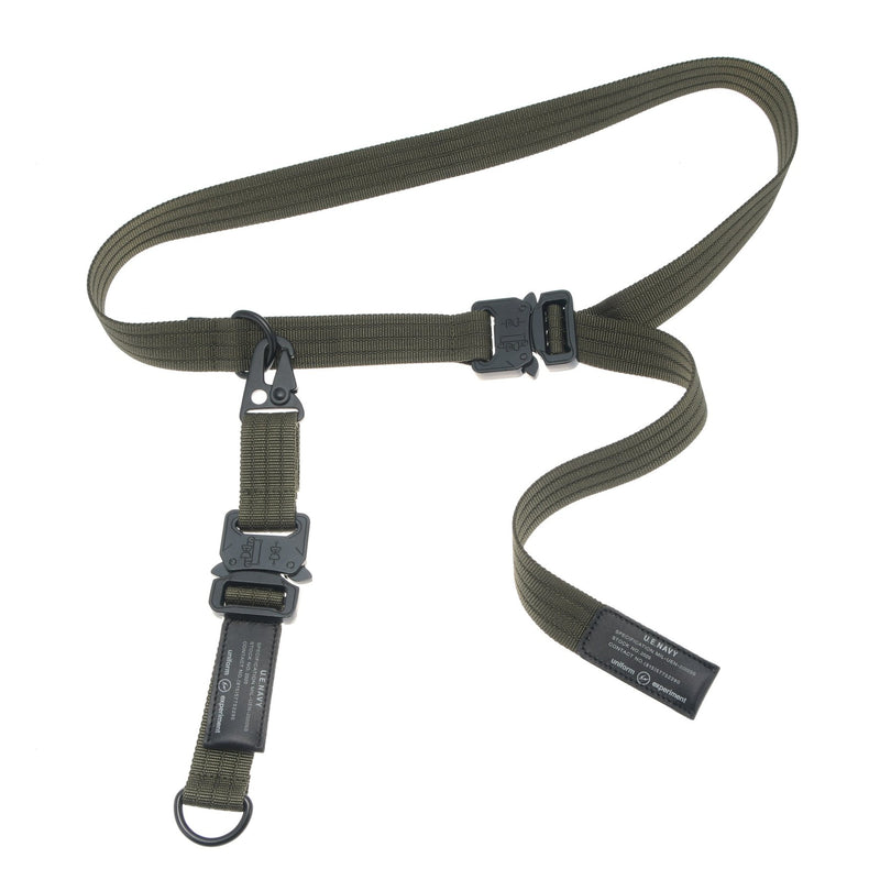 UEN Duty Belt - Khaki-uniform experiment-SUPPLIES & COMPANY