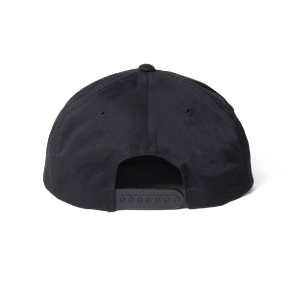 6 Panel Cap (Type-1) - Black-Wacko Maria-SUPPLIES & COMPANY
