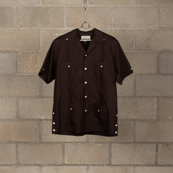 Wacko Maria Cuba Shirt Short Sleeve - Brown SUPPLIES AND CO