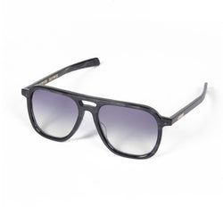 DJ Harvey x Native Sons Glasses (Black Sasa) - Blue-Wacko Maria-SUPPLIES & COMPANY