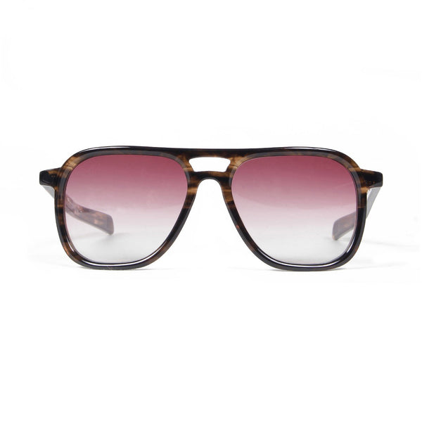 DJ Harvey x Native Sons Glasses (Brown Sasa) - Orange-Wacko Maria-SUPPLIES & COMPANY