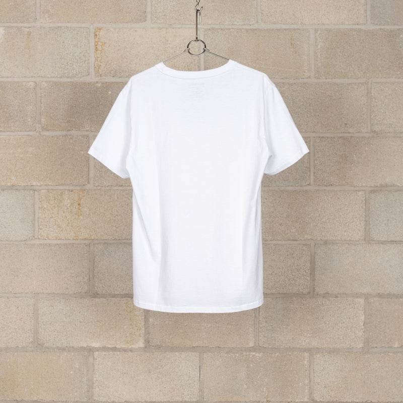 Heavy Weight Crew Neck T-Shirt (Type-B) - White-Wacko Maria-SUPPLIES & COMPANY