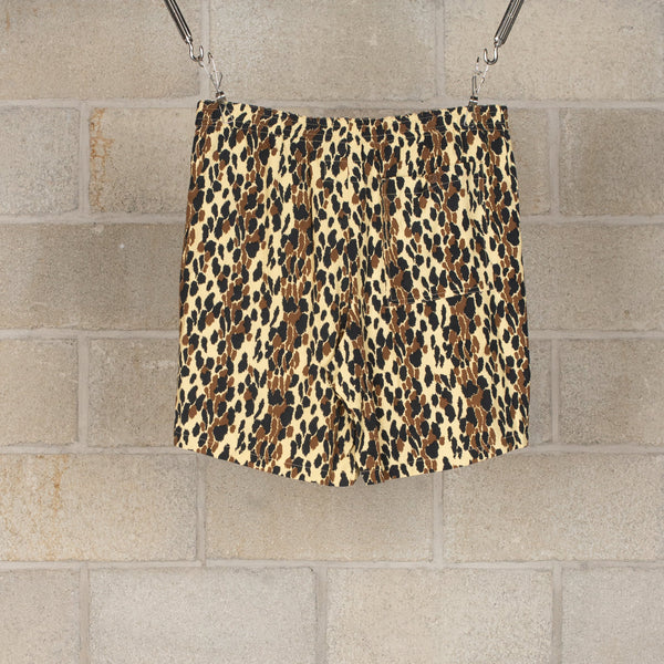 """Leopard"" Hawaiian Shorts-Wacko Maria-SUPPLIES & COMPANY"