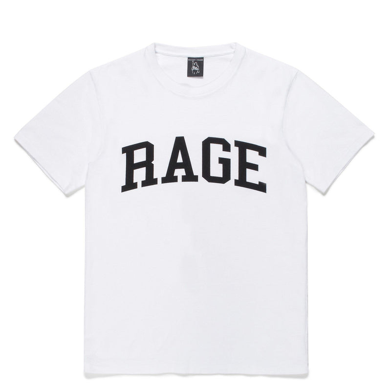 Rage Against The Machine / Washed Heavy Weight Crew Neck T-Shirt (Type-6) - White-Wacko Maria-SUPPLIES & COMPANY