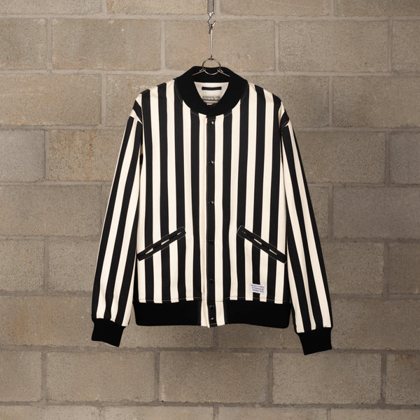 Wacko Maria Striped Varsity Jacket (Type-1) SUPPLIES AND CO