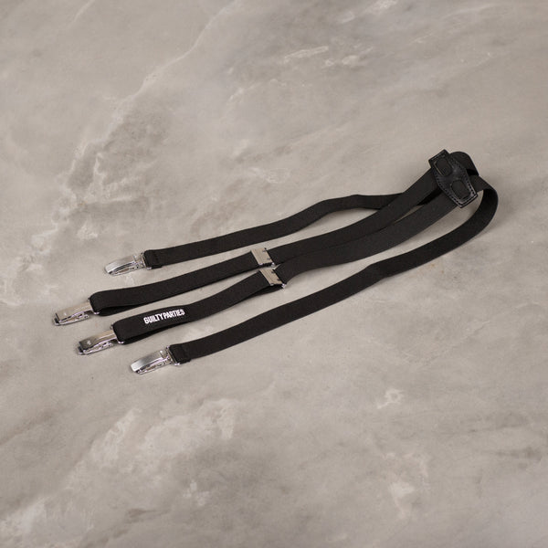 Suspenders - Black-Wacko Maria-SUPPLIES & COMPANY