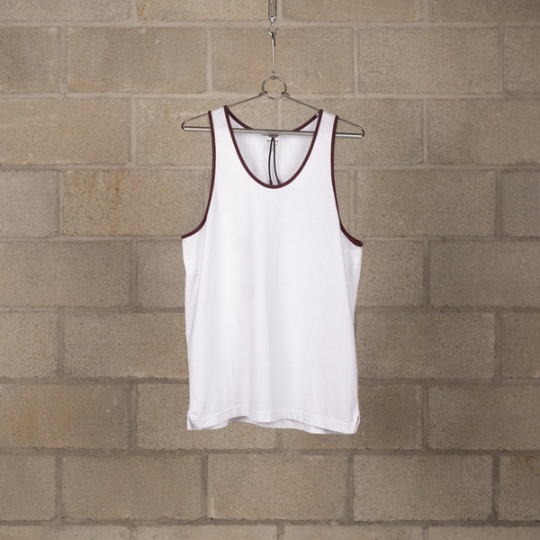 Wacko Maria Tank Top (Type-1) - White SUPPLIES AND CO