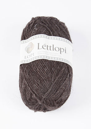 Lettlopi - Lopi Lite - 0052 - black sheep heather - Álafoss - Since 1896