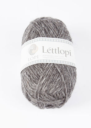 Lettlopi - Lopi Lite - 0058 - dark grey heather - Álafoss - Since 1896