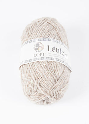 Lettlopi - Lopi Lite - 0086 - light beige heather - Álafoss - Since 1896