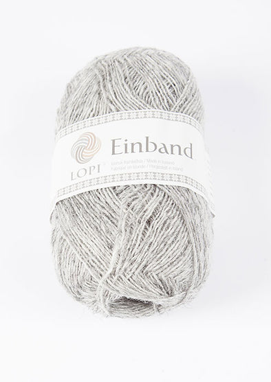 Einband - 1027 - ash heather - Álafoss - Since 1896