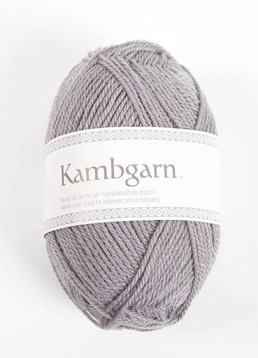 Kambgarn - 1201 - dove grey - Álafoss - Since 1896