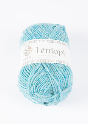Lettlopi - Lopi Lite - 1404 - glacier blue heather - Álafoss - Since 1896