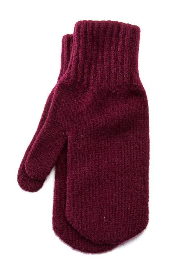 Wool Mittens Burberry