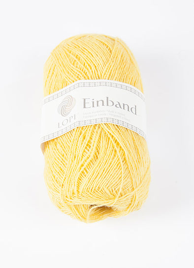 Einband - 1765 - yellow - Álafoss - Since 1896