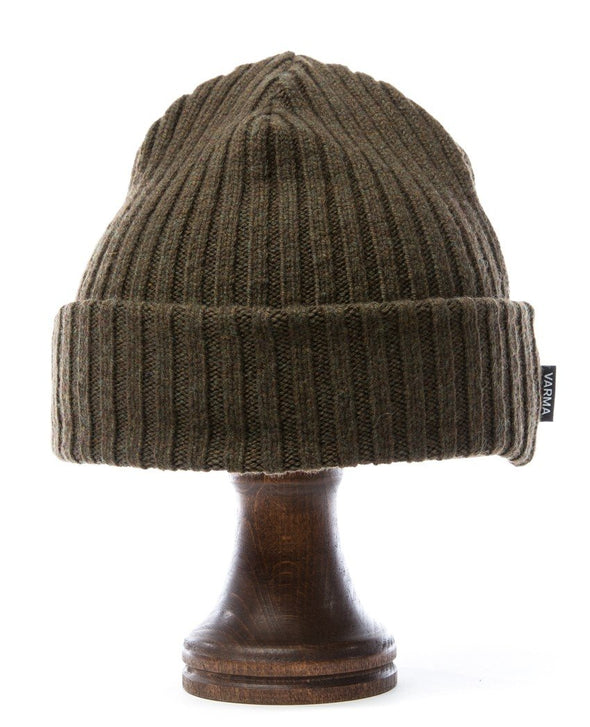 Wool Beanie Military Green