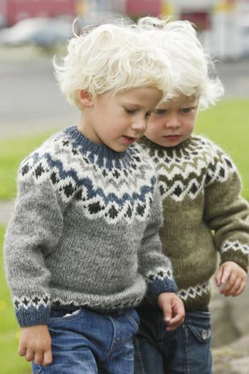 Kids Wool Pullovers - Álafoss - Since 1896
