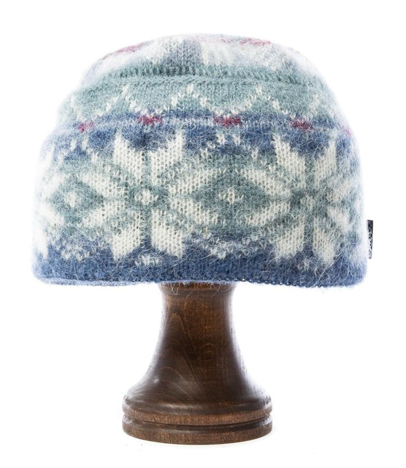 Brushed Norwegian Wool Hat Light Blue