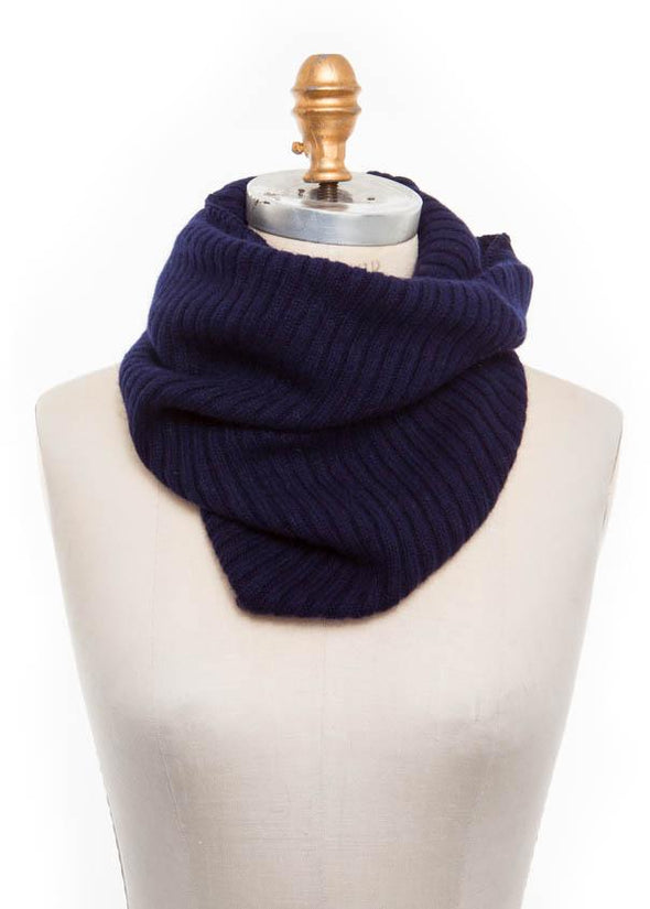 Wool Collar Navy