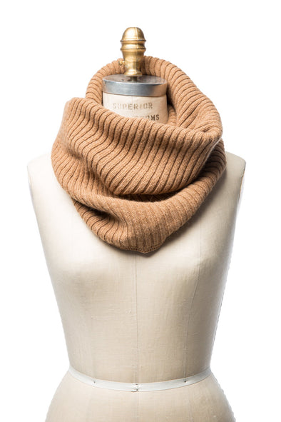 Wool Collar Beige