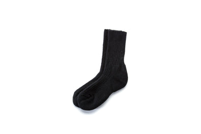 Angora Socks Black