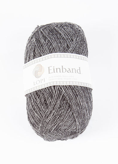 Einband - 9103 - dark grey heather - Álafoss - Since 1896