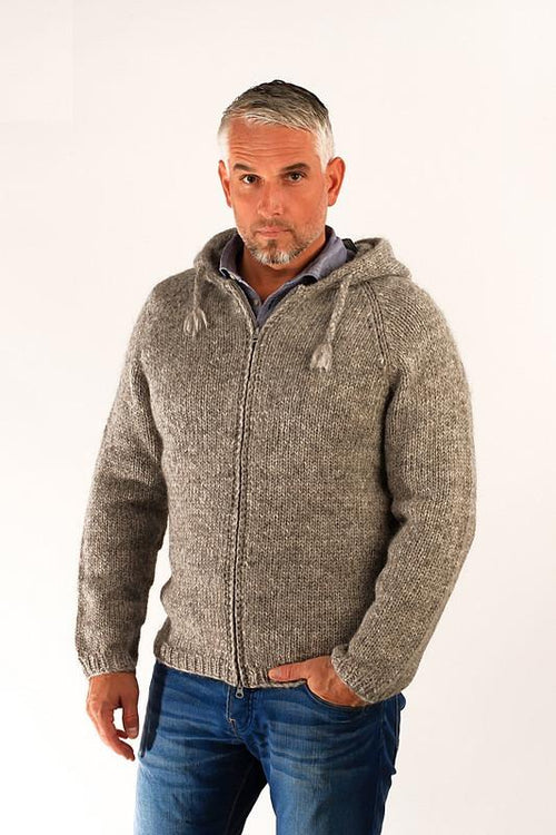 Freri Wool Cardigan Grey - Álafoss - Since 1896