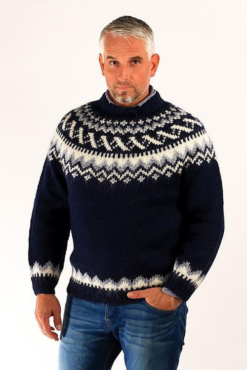 ebee1e2ca5 ... Tailor Made - Nordic Store Icelandic  new list 5bdce 42983 Icelandic  Traditional Wool Pullover Blue - Wool Sweaters - Nordic Store Icelandic ...