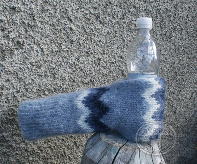 Blue Beer Gloves - Álafoss - Since 1896