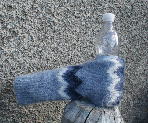 Blue Beer Gloves