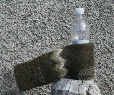 Green/Brown Beer Glove - Álafoss - Since 1896