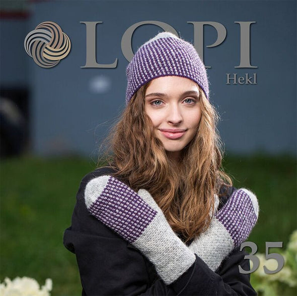 Lopi Pattern Book no. 35 - Crochet - Álafoss - Since 1896