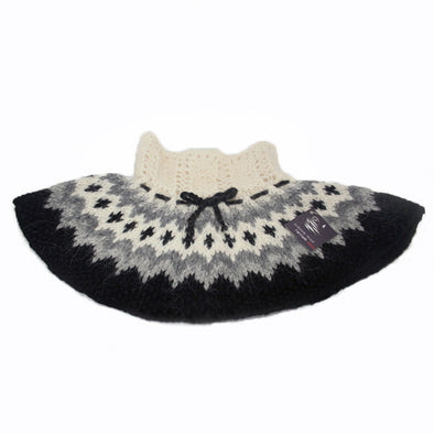 Neck Collar - Black & Grey