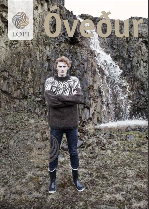 Óveður knitting book - Álafoss - Since 1896