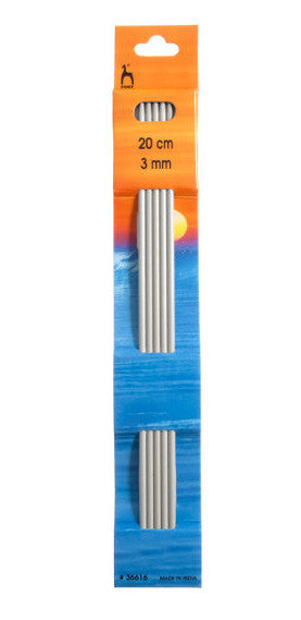 3.0 mm / 20 cm -  Double ended knitting needles - Álafoss - Since 1896