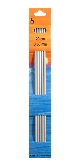 3.5 mm / 20 cm -  Double ended knitting needles