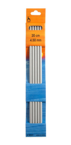 4.5 mm / 20 cm -  Double ended knitting needles - Álafoss - Since 1896