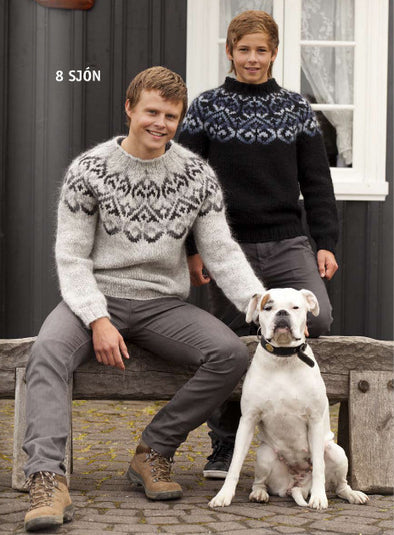 Kit: Sjón Adult Sweater - Álafoss - Since 1896