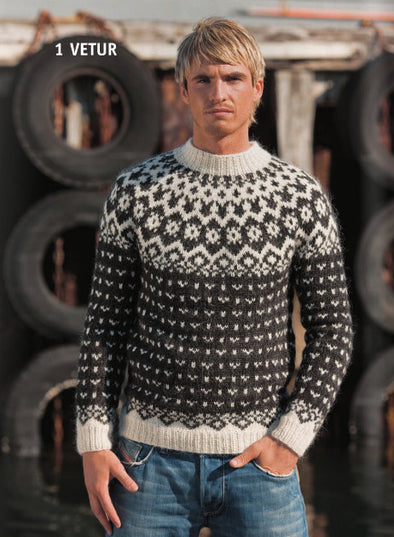 Kit: Vetur Adult Sweater - w. Lopi 28 - Álafoss - Since 1896