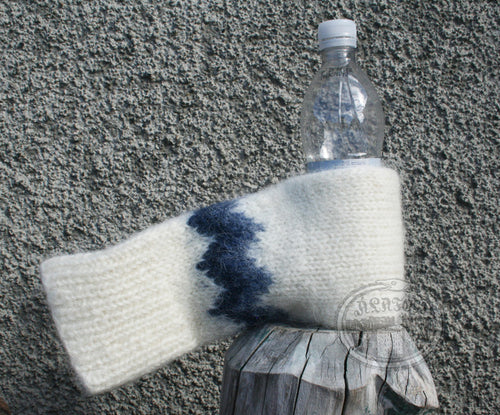 White Beer Gloves